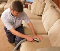 Upholstery cleaning services